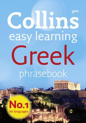 Collins Gem Greek Phrasebook and Dictionary - Collins Gem (Paperback)