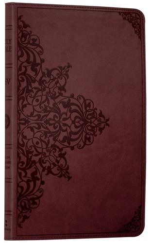 Holy Bible: English Standard Version (ESV) Anglicised Chestnut Ornamental  Thinline edition (Paperback)
