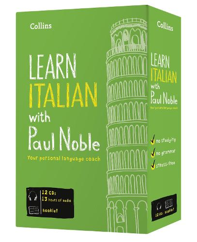 Learn Italian with Paul Noble - Complete Course: Italian Made Easy with Your Personal Language Coach (CD-Audio)