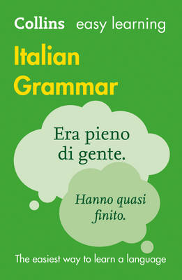 Collins Easy Learning Italian Grammar - Easy Learning 02 (Paperback)