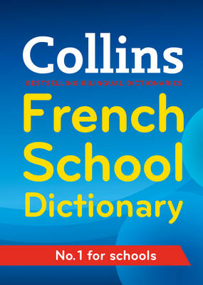 Collins French School Dictionary - Collins School (Paperback)