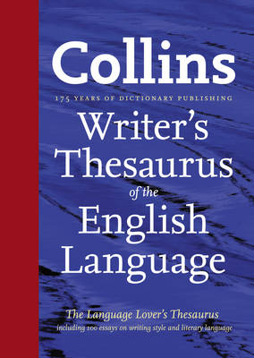 Collins Writer's Thesaurus of the English Language (Hardback)
