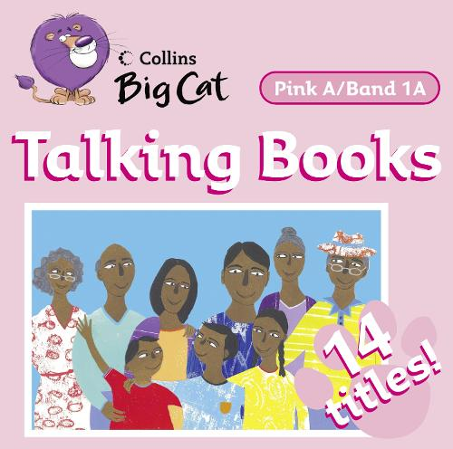 Talking Books: Band 01a/Pink a - Collins Big Cat Audio (CD-Audio)