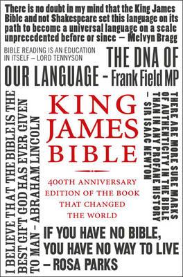 Holy Bible: King James Version (KJV) 400th Anniversary Edition (Paperback)