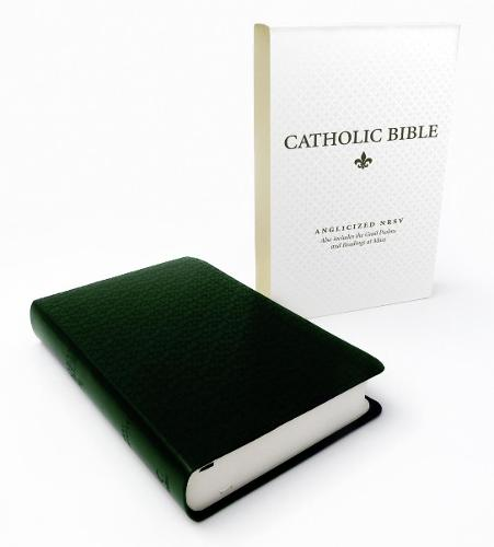 Catholic Bible: New Revised Standard Version (NRSV) Anglicised Deluxe edition with the Grail Psalms (Leather / fine binding)
