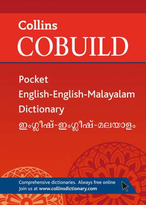 Collins Cobuild Pocket English-English-Malayalam Dictionary (Paperback)