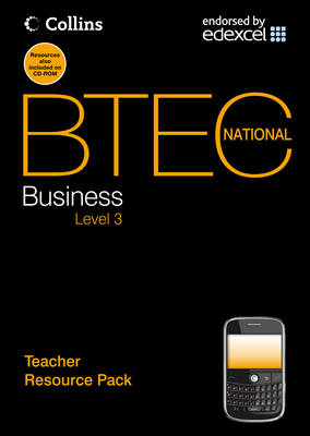 Teacher Resource Pack - BTEC National Business (Spiral bound)