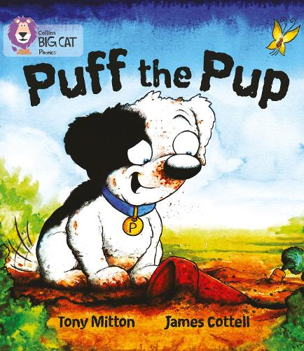Puff the Pup: Band 02a/Red a - Collins Big Cat Phonics (Paperback)