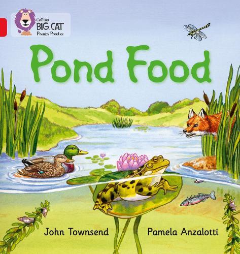 Pond Food: Band 02b/Red B - Collins Big Cat Phonics (Paperback)
