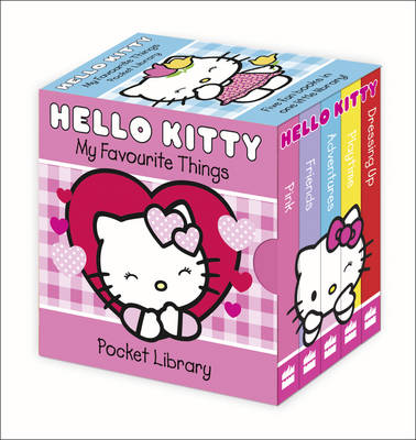 My Favourite Things Pocket Library - Hello Kitty (Board book)