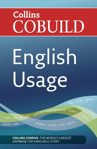 English Usage: B1-C2 - Collins COBUILD Grammar (Paperback)