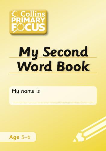 My Second Word Book: Spelling - Collins Primary Focus (Paperback)
