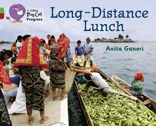 Long-distance Lunch: Band 05 Green/Band 14 Ruby - Collins Big Cat Progress (Paperback)