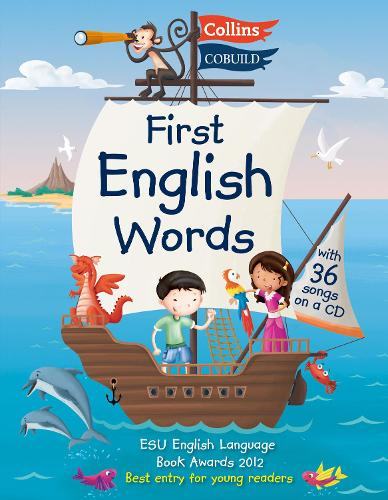 First English Words (Incl. audio CD): Age 3-7 - Collins First English Words (Paperback)
