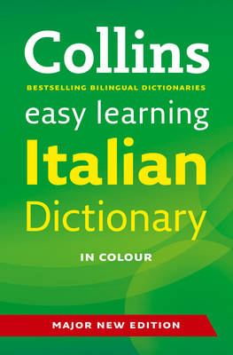 Easy Learning Italian Dictionary - Collins Easy Learning Italian (Paperback)
