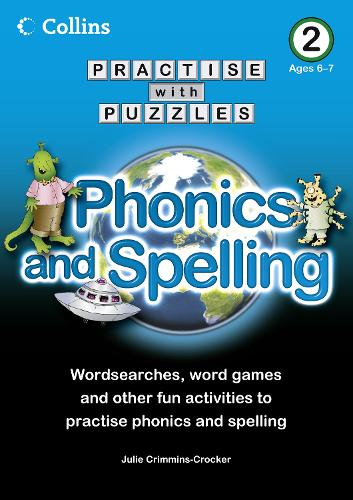 Book 2: Phonics and Spelling - Collins Practise with Puzzles (Paperback)