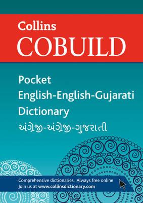 Collins Cobuild Pocket English-English-Gujarati Dictionary (Paperback)