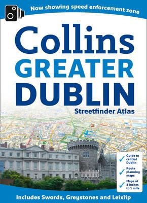 Greater Dublin Streetfinder Atlas (Spiral bound)