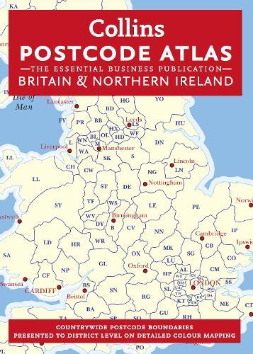Postcode Atlas of Britain and Northern Ireland (Hardback)