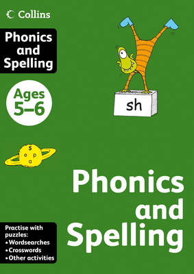 Collins Phonics and Spelling: Ages 5-6 - Collins Practice (Paperback)