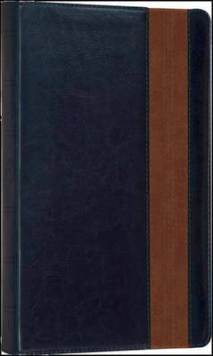 Holy Bible: English Standard Version (ESV) Anglicised Navy/Tan Thinline Edition (Paperback)