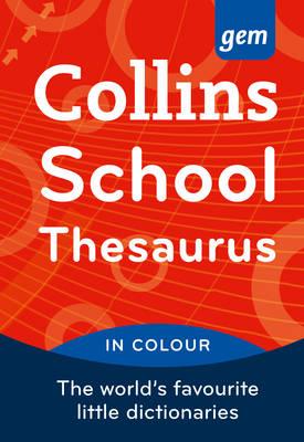 Collins Gem School Thesaurus [Fourth Edition] (Paperback)