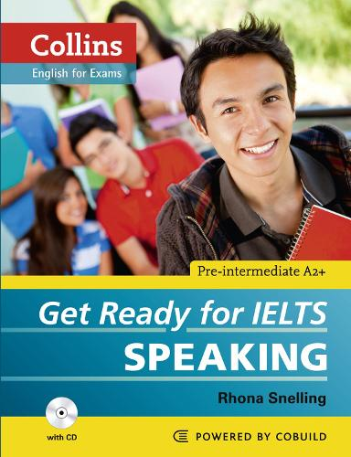 Get Ready for IELTS - Speaking: IELTS 4+ (A2+) - Collins English for IELTS (Paperback)
