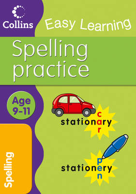 Spelling: Age 9-11: Ages 9-11 - Collins Easy Learning Age 7-11 (Paperback)