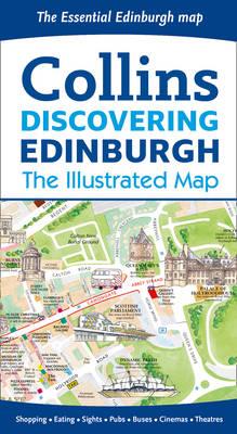 Discovering Edinburgh Illustrated Map (Sheet map, folded)