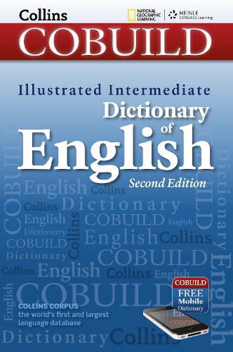 Intermediate Dictionary of English: With Mobile App - Collins Cobuild (Paperback)