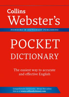 Collins Pocket Webster's Dictionary (Paperback)