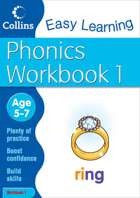 Phonics Workbook 1: Workbook 1: Age 5-7 - Collins Easy Learning Age 5-7 (Paperback)