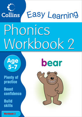 Phonics Workbook 2: Workbook 2: Age 5-7 - Collins Easy Learning Age 5-7 (Paperback)