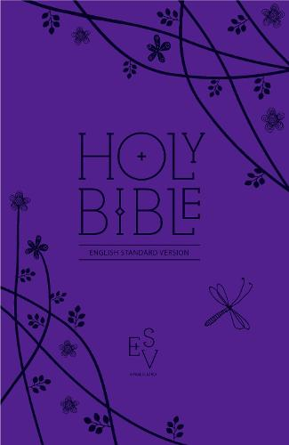Holy Bible: English Standard Version (ESV) Anglicised Purple Compact Gift edition with zip (Leather / fine binding)