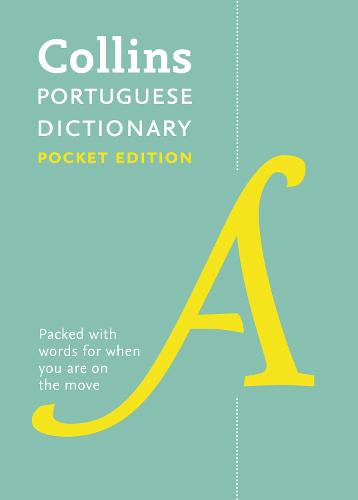 Collins Portuguese Dictionary Pocket edition: 51,000 Translations in a Portable Format (Paperback)