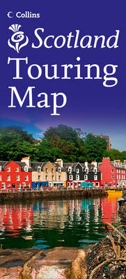 Visit Scotland Touring Map (Sheet map, folded)