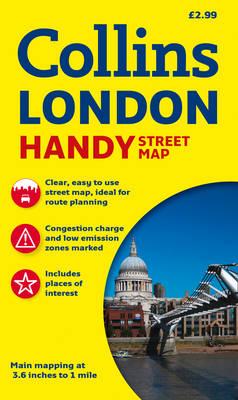 Collins Handy Street Map London (Sheet map, folded)