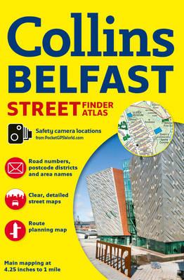 Belfast Streetfinder Colour Atlas (Paperback)