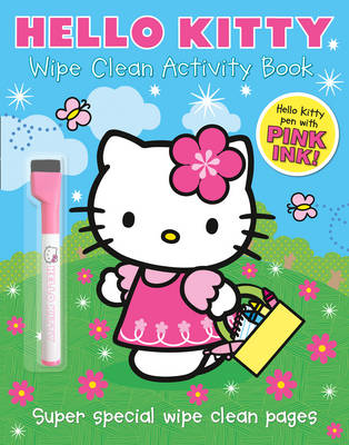 Wipe Clean Activity Book - Hello Kitty (Paperback)
