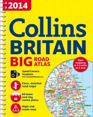 2014 Collins Big Road Atlas Britain (Spiral bound)