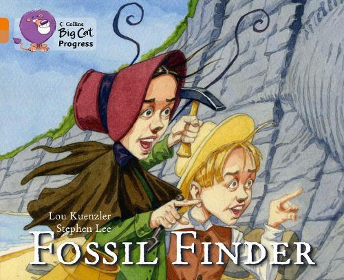 Fossil Finder: Band 06 Orange/Band 12 Copper - Collins Big Cat Progress (Paperback)