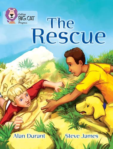 The Rescue: Band 07 Turquoise/Band 17 Diamond - Collins Big Cat Progress (Paperback)