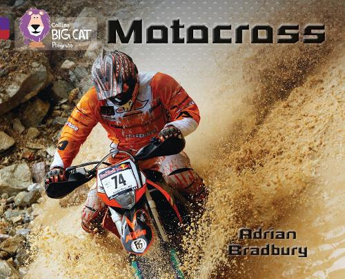 Motocross: Band 08 Purple/Band 14 Ruby - Collins Big Cat Progress (Paperback)