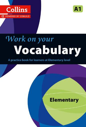 Vocabulary: A1 - Collins Work on Your... (Paperback)