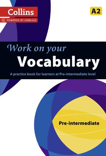 Vocabulary: A2 - Collins Work on Your... (Paperback)