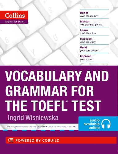 Vocabulary and Grammar for the TOEFL Test - Collins English for the TOEFL Test