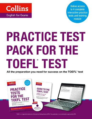 Practice Test Pack for the TOEFL Test - Collins English for the TOEFL Test