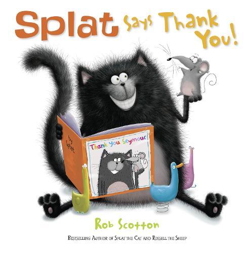 Splat Says Thank You! (Paperback)