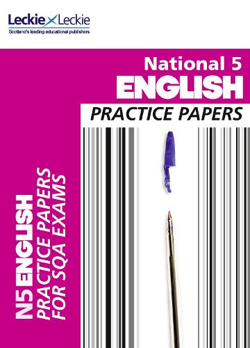 National 5 English Practice Papers for SQA Exams - Practice Papers for SQA Exams (Paperback)