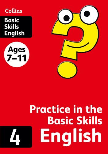 English Book 4 - Collins Practice in the Basic Skills (Paperback)